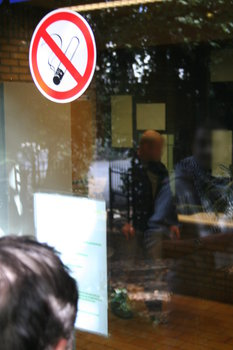 [Picture: Mysterious photographer in Belgian police station]